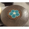 "ORIFLAMME Savanna 38"" Round Fire Table"