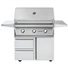 "TWIN EAGLES 36"" Deluxe Cart Grill with 3 Burners (TEBQ36G-C-DCART)"