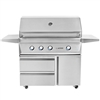 "TWIN EAGLES 42"" Deluxe Cart Grill with 3 Burners and Rot (TEBQ42R-C-DCART)"