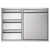 "TWIN EAGLES 30"" Door/3 Drawer Combo (TEDD303-B)"