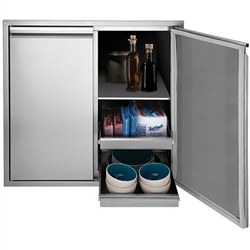 "TWIN EAGLES 36"" Tall Dry Storage Cabinet (TEDS36T-B)"