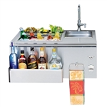 "TWIN EAGLES 30"" Outdoor Bar Sink (TEOB30-B)"