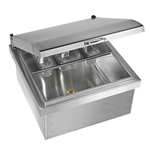"TWIN EAGLES 24"" Drop-In Cooler (TEOC24D-B)"