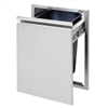 "TWIN EAGLES 18"" Trash Drawer (TETD18T-B)"