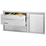 "TWIN EAGLES 42"" Warming Drawer Combo (TEWD42C-C)"