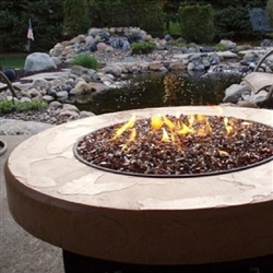 "ORIFLAMME Tuscan 38"" Round Fire Table"