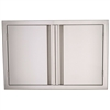 "RCS 33"" Valiant Stainless Double Doors (VDD1)"