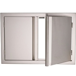 "RCS 45"" Valiant Stainless Double Doors (VDD2)"