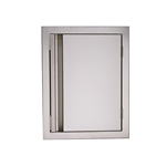 "RCS 17"" Valiant Vertical Stainless Door (VDV1)"