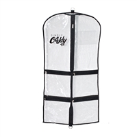 Simply Caddy Set of 3 Costume Garment Bags Black Trim