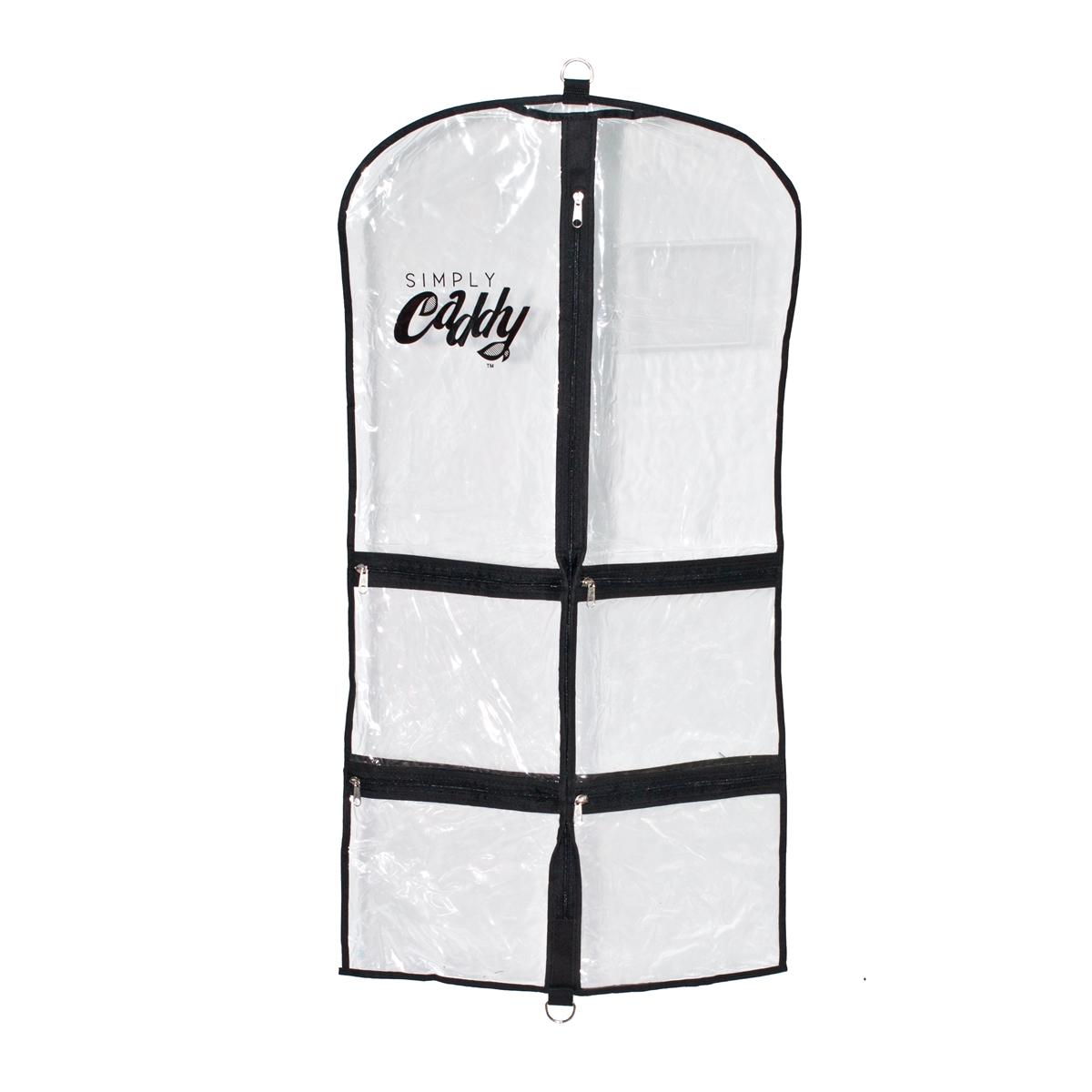 Costume Garment Bag With Black Trim Larger Photo