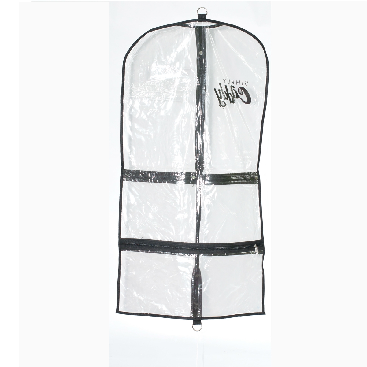 Set Of 5 Clear Costume Garment Bags