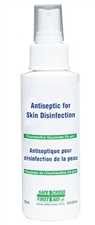 Antiseptic Skin Cleanser, 125 mL, Spray Pump