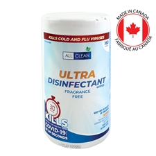 All Clean Natural Sanitizing Wipes (160 Wipes)