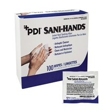 Sani Hands ALC Sanitizing Wipes (100)