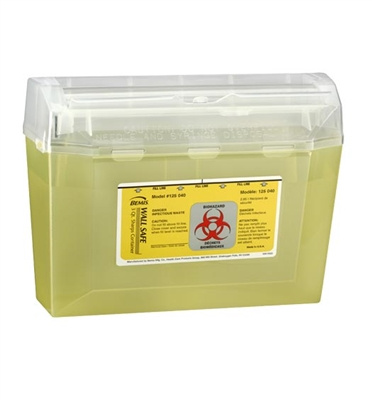 SHARPS CONTAINER 3-Quart Wallsafe