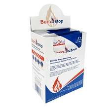 "Burn Stop Burn Dressings 2"" x 6"" - Box of 12"