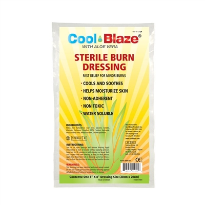 "Burn EZE 8"" x 8"" Burn Dressing"