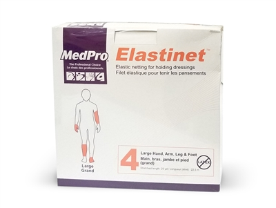 MedPro Elastinet  - Size 4. Elastic netting for holding dressings in place