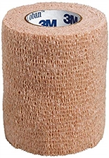"3M Coban Self-Adherent Wrap, 3"" x 5 yd"