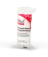 Conforming Stretch Gauze Bandage Roll 3""