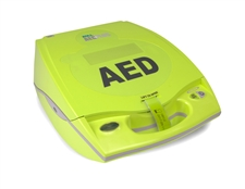Zoll AED Plus Fully-Automatic Defibrillator with Real CPR Help.