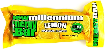 Millennium Energy Food Bar - Lemon
