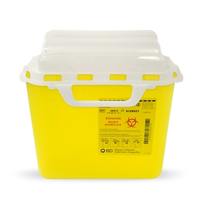 BD Sharps Disposable Container - 5.1 L