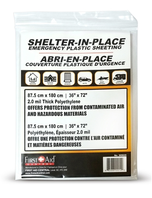Emergency Plastic Sheeting