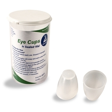 Dynarex Eye cups in a vial