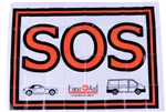 SOS Warning Flag