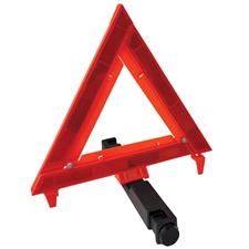 Emergency Folding Warning Triangle with weighted base