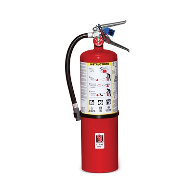 Fire Extinguisher 4-A: 60-B:C - 10lbs