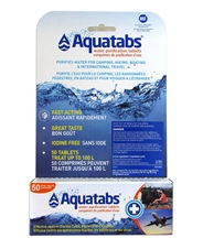Water Purification Tablets AQUATABS - PACK of 50