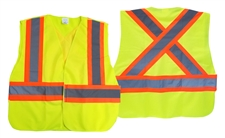 High Visibility Solid Safety Vest