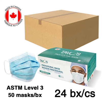 Level 3 Hospital / Medical 3-Ply Surgical Masks Case