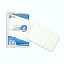 "Dynarex Trauma Dressing - Non-Woven - 10"" X 30"" - Rectangle - Sterile"