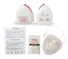CPR Pocket Mask in Hard Case