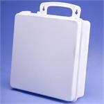 "Empty Plastic First Aid Case  - 9.5"" x 9.5"" x 3"""