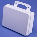 "Empty Plastic First Aid Case - 9.5"" x 7"" x 3.25"""