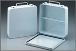 24 Unit Metal First Aid Case  Empty