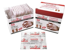 HEAVY Weight Fabric Adhesive Bandages Fingertip (box of 50)