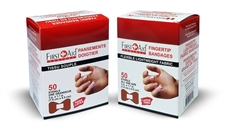 Light weight Fabric Adhesive Bandages Fingertip Large