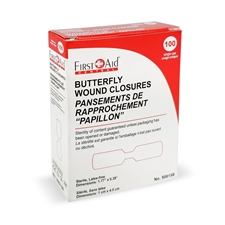 Butterfly Wound Closures Medium (100)