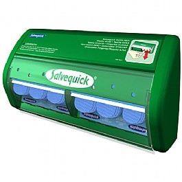 Salvequick Bandage Dispenser - Plastic Detectable Bandages