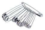 Safety Pins (set of 12)