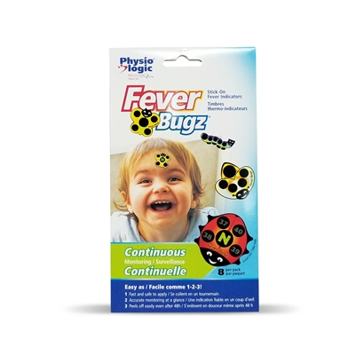 Fever-Bugz Stick-On Fever Indicators, Pack of 8