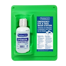 Single Eyewash Station; Full Bottle 500 ml.
