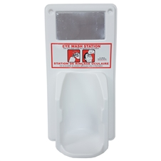 Single Eyewash Station - 500 ml Eyewash bottle Not Included