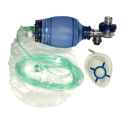 MPR Bag Pediatric Mask, 2500 cc/ml Bag